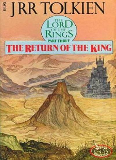 Lord of the Rings: The Return of the King v. 3 By J. R. R. Tolk .9780048231871
