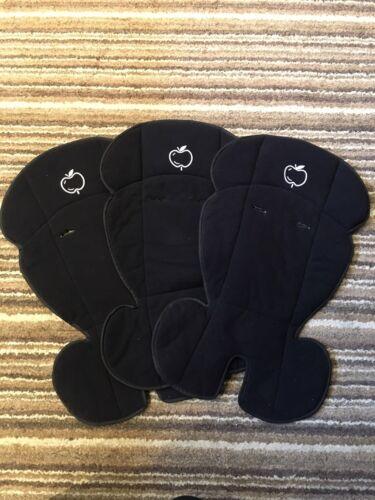 VGC Black iCandy Apple Pear Fleece Seat Liner