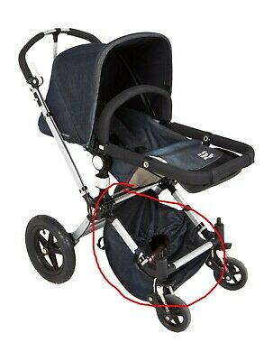 2 /& 3 Fits 1 Bugaboo Cameleon Carry Cot /& Mattress Denim Special Edition 007