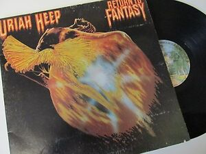 Uriah-Heap-Return-To-Fantasy-BS2869-Vinyl-Lp-Record-Album-1970s