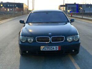 2003 BMW Série 7 super clean car