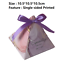Details about  /20pcs Starry Sky Triangle Pyramid Wedding Party Giveaways Candy Box With Ribbons