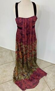 Etro-Floral-Silk-Mousseline-Maxi-Gown-Made-In-Italy-44-NWOT-Orig-7-895-00