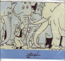 Tintin cigares pharaon Herge tapis de souris 2007