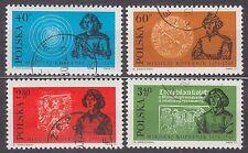 POLAND 1972 USED SC#1915/18 500 Anniversary Birthday, Nicolaus Copernicus.