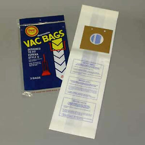 Image Is Loading 15 Vacuum Cleaner Bags For Eureka Bravo Upright