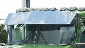 Kenworth W900 T800 T600 T300 Drop Visor 1996 and Newer
