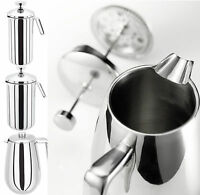 Judge Stainless Steel Cafetiere Double Or Single Wall Coffee Maker French Press