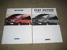 Fiat Ulysse Prospekt Brochure prospetto von 10/1994, 32 Seiten