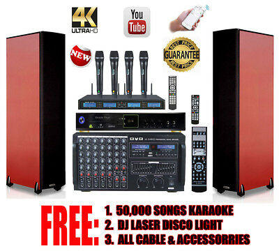 50,000 Songs Top Watermelons Karaoke Entertainment Bvb Complete Professional Dj/kj 3000w Karaoke System With Free