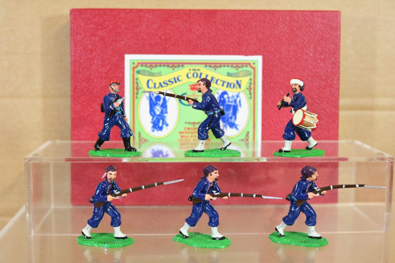 Trophäe Miniaturen acw33 1 Amerikanischer Bürgerkrieg 9. NY Hawkings Zouaves