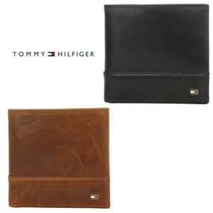 Tommy-Hilfiger-Men-039-s-31TL120002-RFID-Protection-Hipster-amp-Valet-Billfold-Wallet