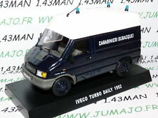 voiture POLICE 1/43 CARABINIERI : IVECO Turbo Daily 1992