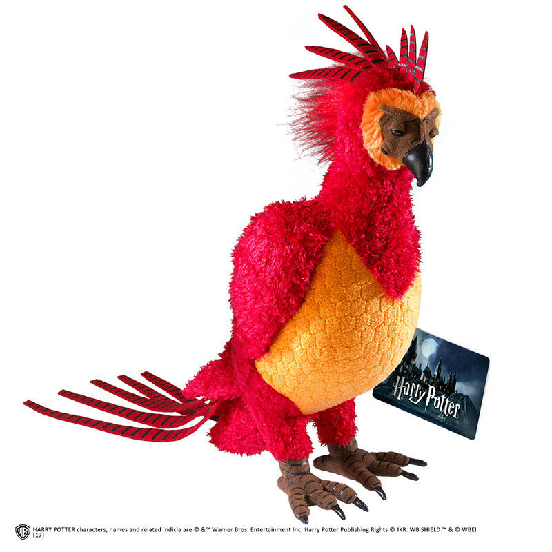 Harry Potter Fawkes the Phoenix PLUSH PELOUCHE Noble COLLECTIONS