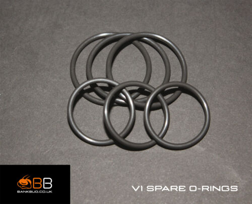 NEW Bank BUG Rock Steady Back Rest V1 Spare Viton O-Rings 6 PACK
