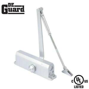 Satin Nickel Size 2 w// P.A Bracket Hydraulic Door Closer Grade 1