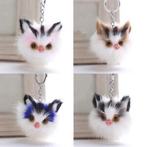 Key-Chain-Fluffy-Keychains-Lovely-Cat-Pompom-Fur-Car-Keyring-Bag-Pendant-Gift
