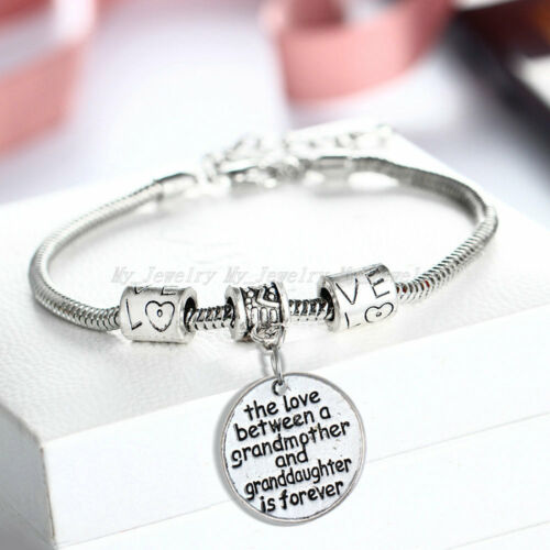 Keyring Mothers Day Gift Mum Necklace Bracelet Mommy Mummy Silver Jewellery Mom