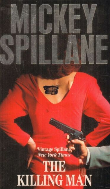 The Killing Man(Paperback Book)Mickey Spillane-1990-Acceptable