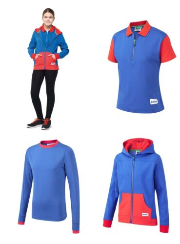 Brand New Girl Guides Uniforme Officiel Polo Shirt Nouveau design bleu Royal Rouge UK afficher le titre d'origine