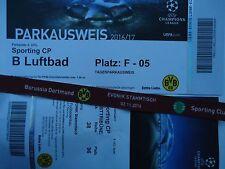 VIP TICKET Band & Parking UEFA CL 2016/17 Borussia Dortmund - Sporting CP (1)