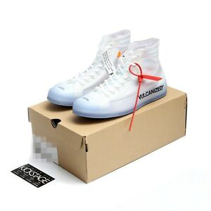 2bf396f1ac16 OFF-WHITE x Converse Chuck Taylor All Star 70 Hi THE TEN 10 162204C ...