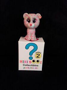 TY Beanie Boos Mini Boo TASHA the Leopard SERIES 2 Collectible Figure