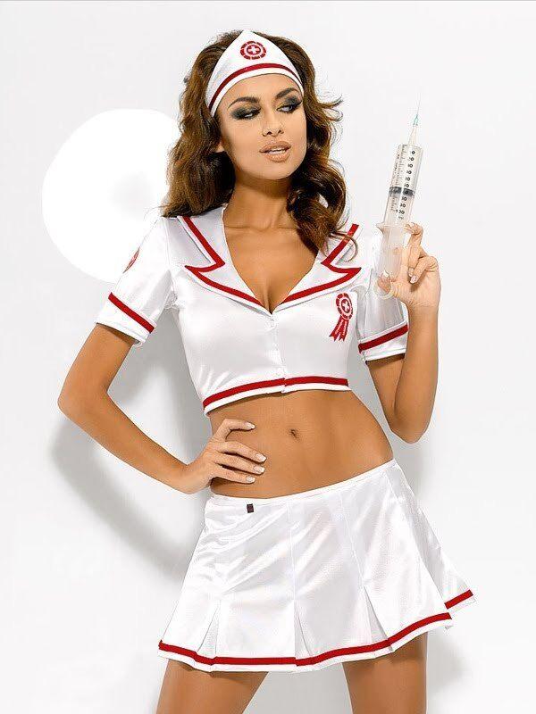 Kostüm Verkleidung Damenunterwäsche Krankenschwester Krankenschwester Set