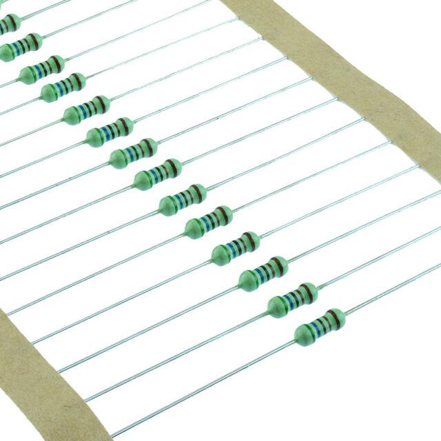 100pcs 1//4w Watt 300K ohm 300Kohm Metal Film Resistor 0.25W 3000000R 1/%
