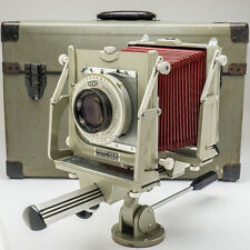 Graflex Graphic View ll 4x5 View Camera and Lens + Case