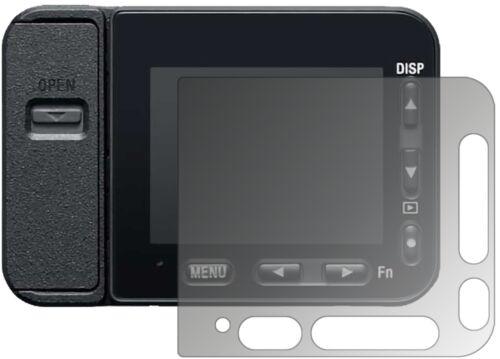 Sony dsc-rx0 II mirada lámina de protección lámina protectora mate lámina display protección dipos