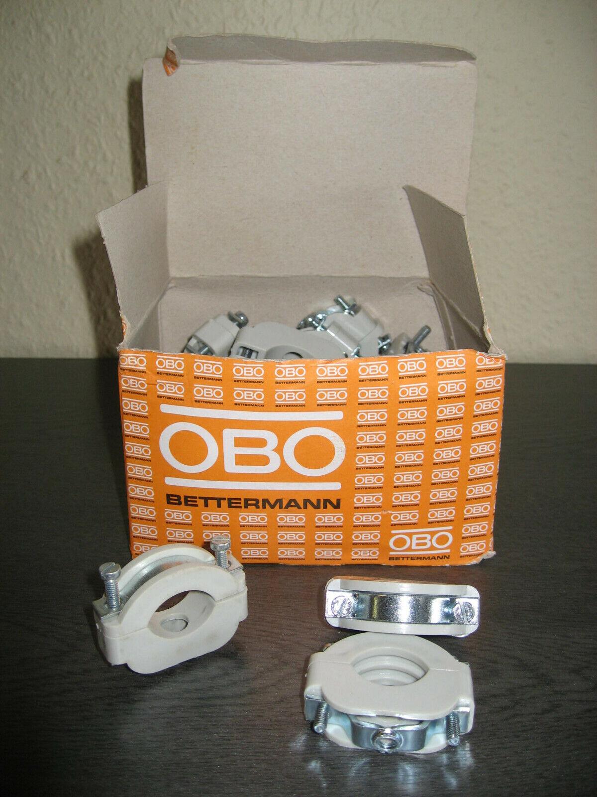 OBO Bettermann Blitz-Iso-Schellen, Typ 3021 LGR 17-24mm, Lichtgrau Ral 7035   Online-verkauf