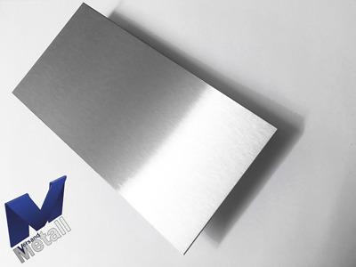 Edelstahlwanne R1-1 geschweißt Edelstahl 1,5mm Breite 300mm Außen Schliff K320.