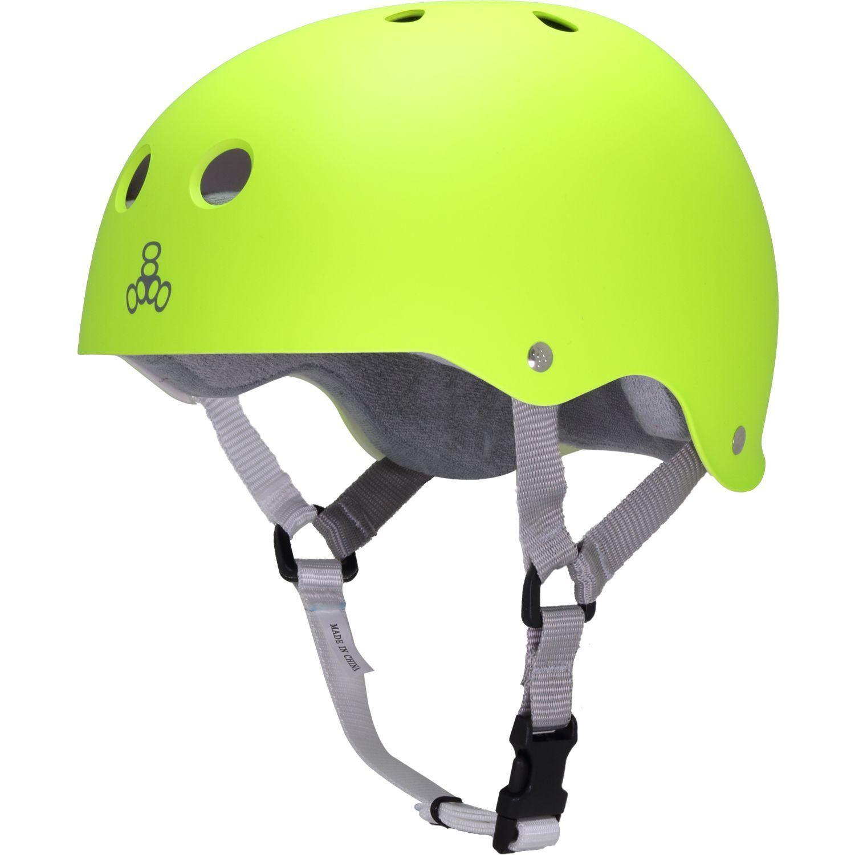 Triple 8 Helmet Neon Zest L