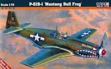 "1/72   P-51B-1 ""Bull Frog I"" MasterCraft C-46 Model kit"