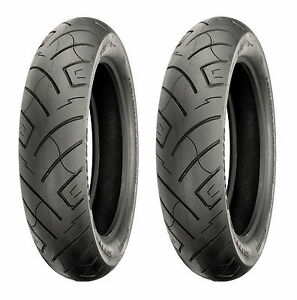 Shinko 777 H.D Front Motorcycle Tire White Wall for Kawasaki Vulcan Nomad VN1500G 1999-2001 71H 150//80-16