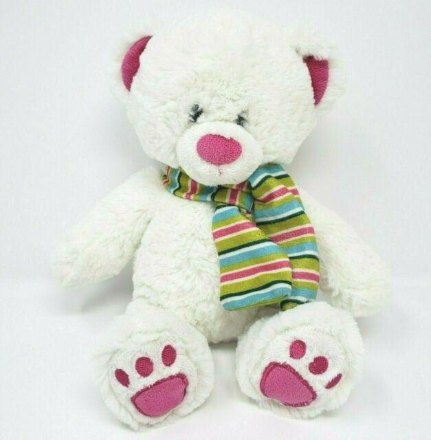 "Baby Gund Tilley 4034091 Plush Pink Teddy Bear Stuffed Animal Baby Toy EUC 11/"""