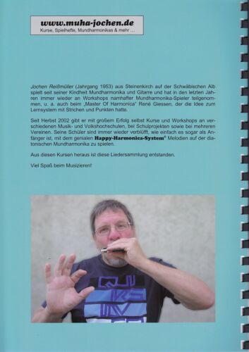 Harmonica-Mix für Bluesharp Mundharmonika-Spielheft OHNE Noten