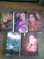 Lot de 5 livres éditions Harlequin collection Black Rose