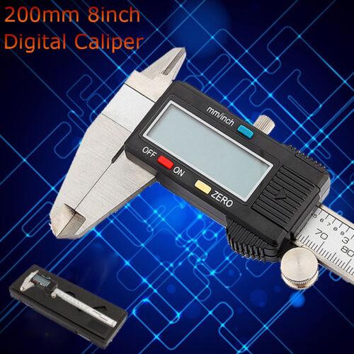 Digitaler Schieblehre Digital LCD Messchieber Messschieber Caliper 150-300mm SH9