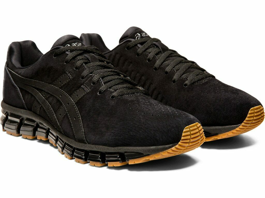 ASICS Limited Edition GEL-QUANTUM 360 4 LE. BLACK. Men's shoes. Suede. BRAND NEW