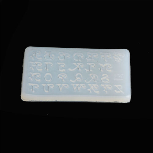 letters Silicone Mould DIY Resin Decorative Craft Jewelry Making resin mold RDR