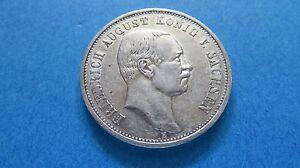 3 Mark Deutsches Reich Friedrich August König Von Sachsen 1909