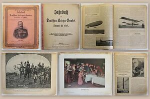 Anuario-del-aleman-guerrero-federal-calendario-para-1913-ilustra-militaria-XZ