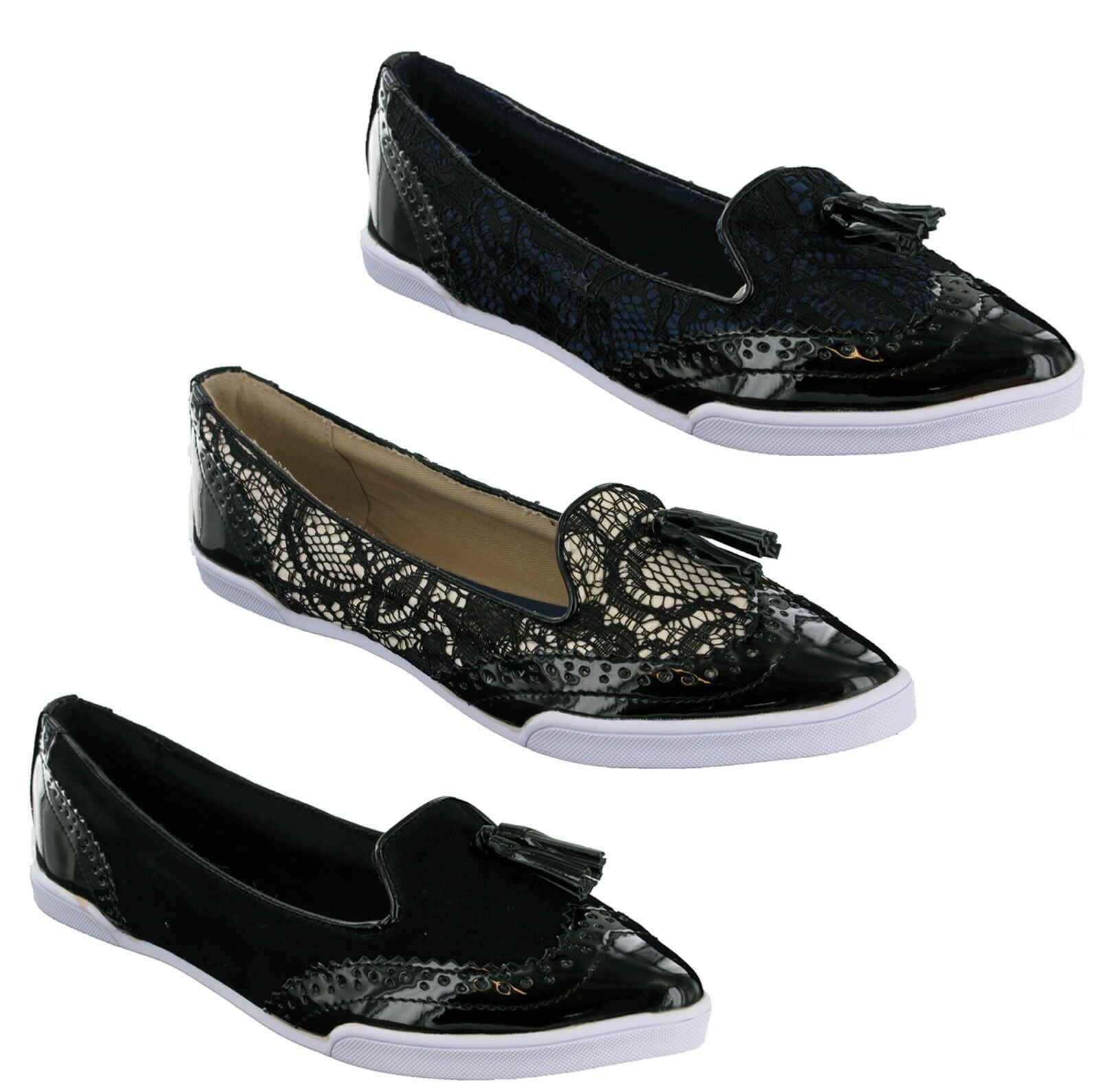 Butterfly Twists Adrienne Flat Ballerina On Womens Pumps Shoes Slip On Ballerina Brogue Style e7f298