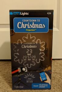 Countdown To Christmas Projection App Controlled Up To 99 Day Timer 8' Distance