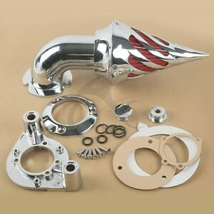 Kit-Filtro-Aria-a-Cono-Cromo-per-Harley-Davidson-XL-Models-Sportster-1991-2006
