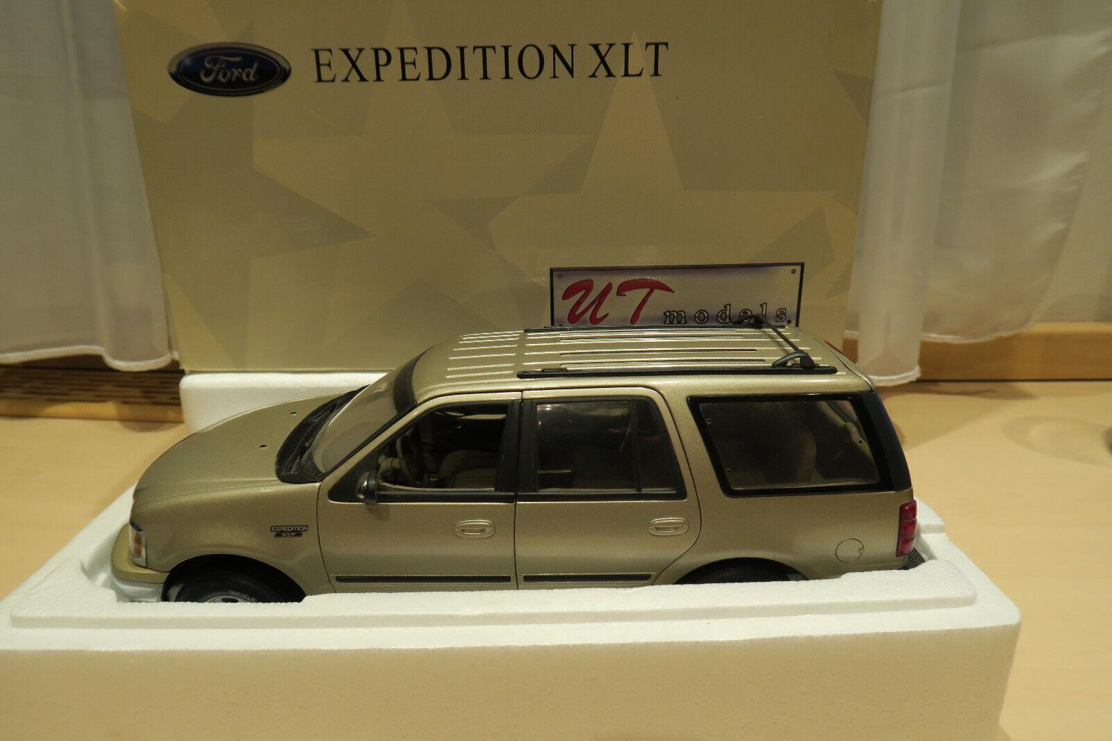 Ford Expedition XLT UT Models 1 18 met. Gold