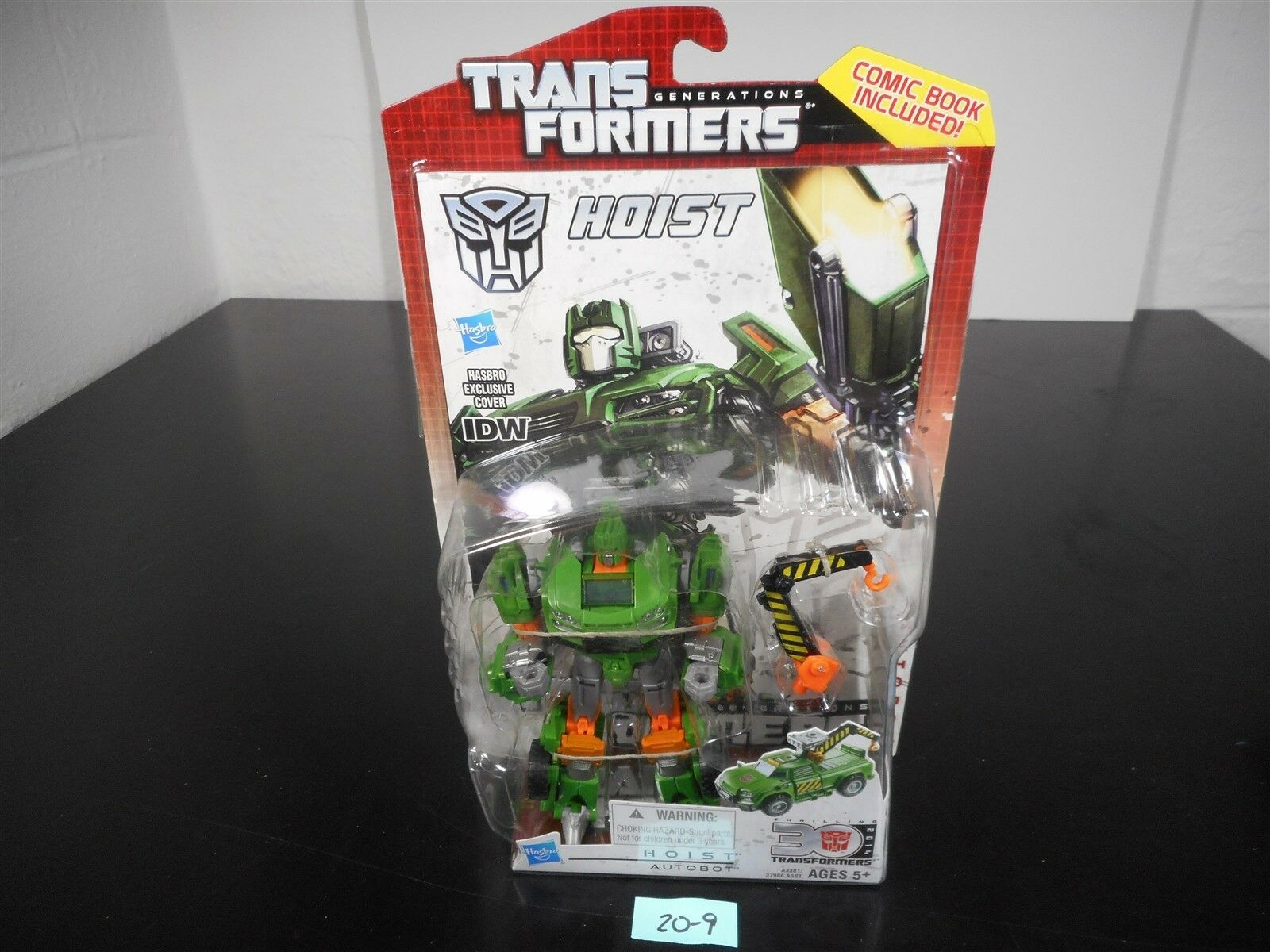 NEW & SEALED   TRANSFORMERS GENERATIONS IDW HOIST DELUXE FIGURE 30TH ANNIV 20-9