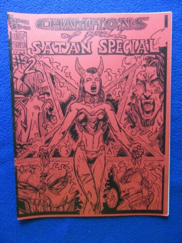 CHAMPIONS OF HELL SATAN SPECIAL #2 2002 HARD TO FIND!
